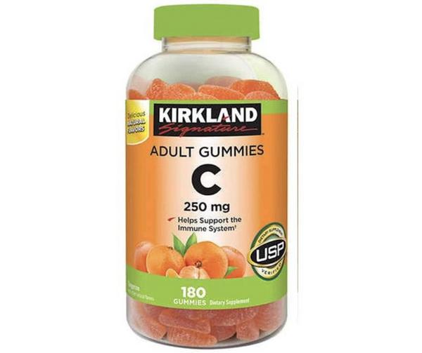 Kirkland Signature Vitamin C Adult Gummies - 250 mg - 180 Gummies
