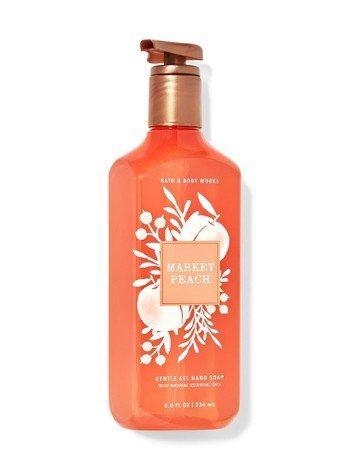Bath & Body Works Market Peach Gentle Gel Hand Soap 8 fl oz / 236ml