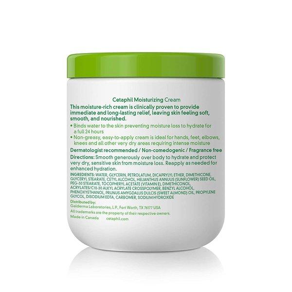Cetaphil Moisturizing Cream Body Very dry, sensitive skin 566g