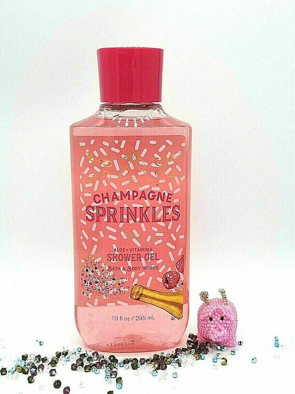 Bath & Body Works Champagne Sprinkles Shower Gel 10 fl oz / 295mL