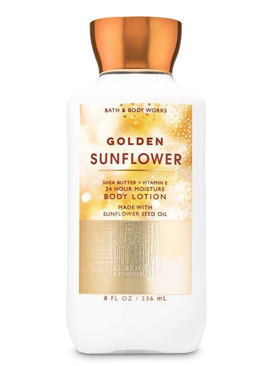 Bath & Body Works Golden Sunflower Body Lotion 8 fl oz /236mL